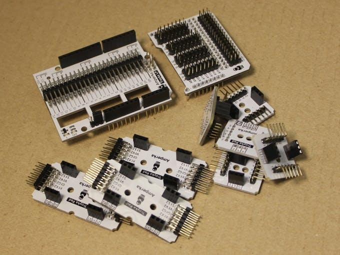 Expansion boards and pads