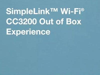 IoT Tutorial on CC3200