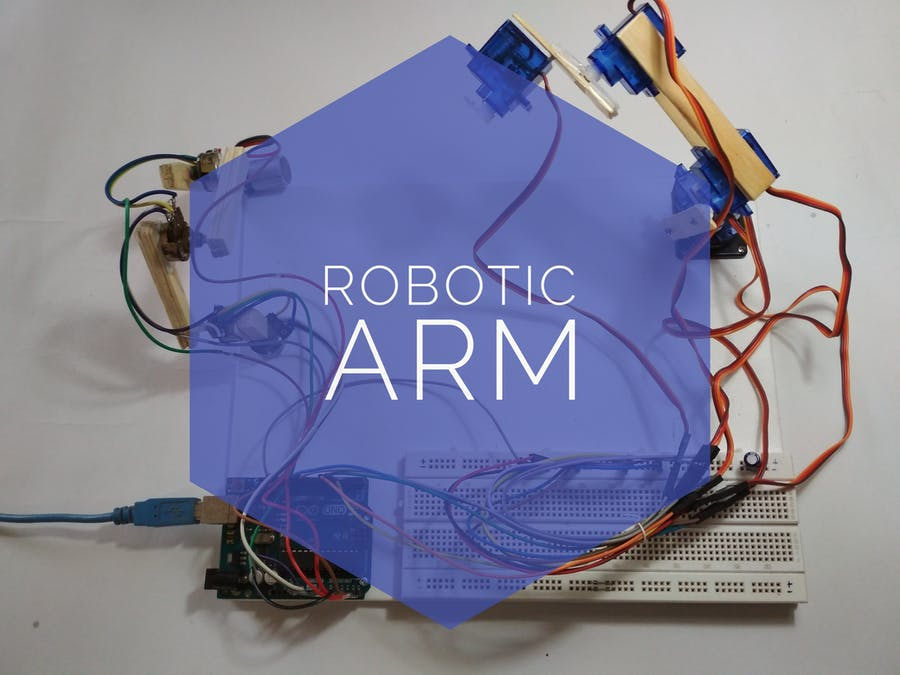 Simple and Smart Robotic Arm Using Arduino