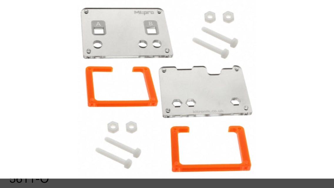 Kitronik MI:pro Protector Case Kit