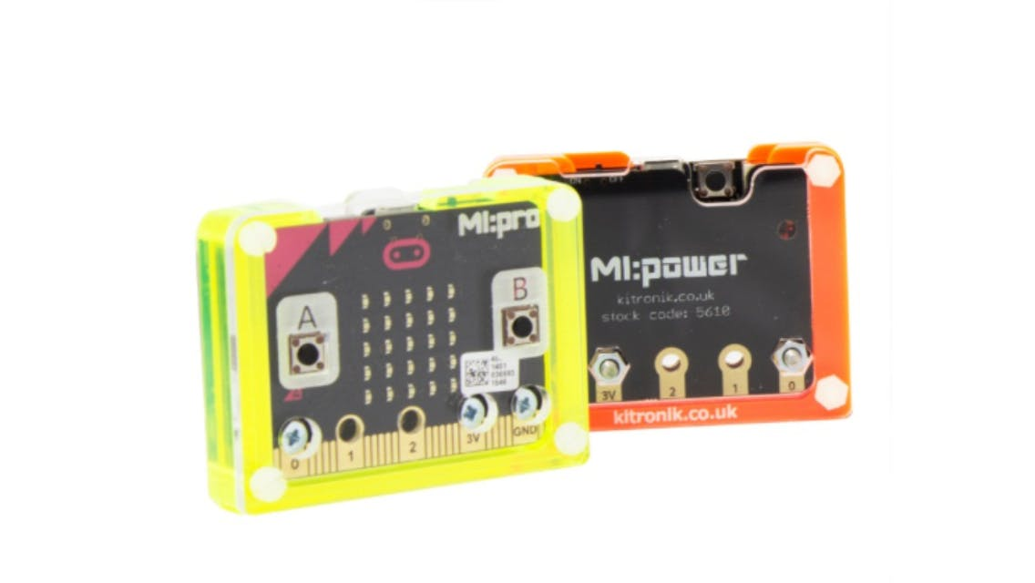 Fully assembled Micro:bits