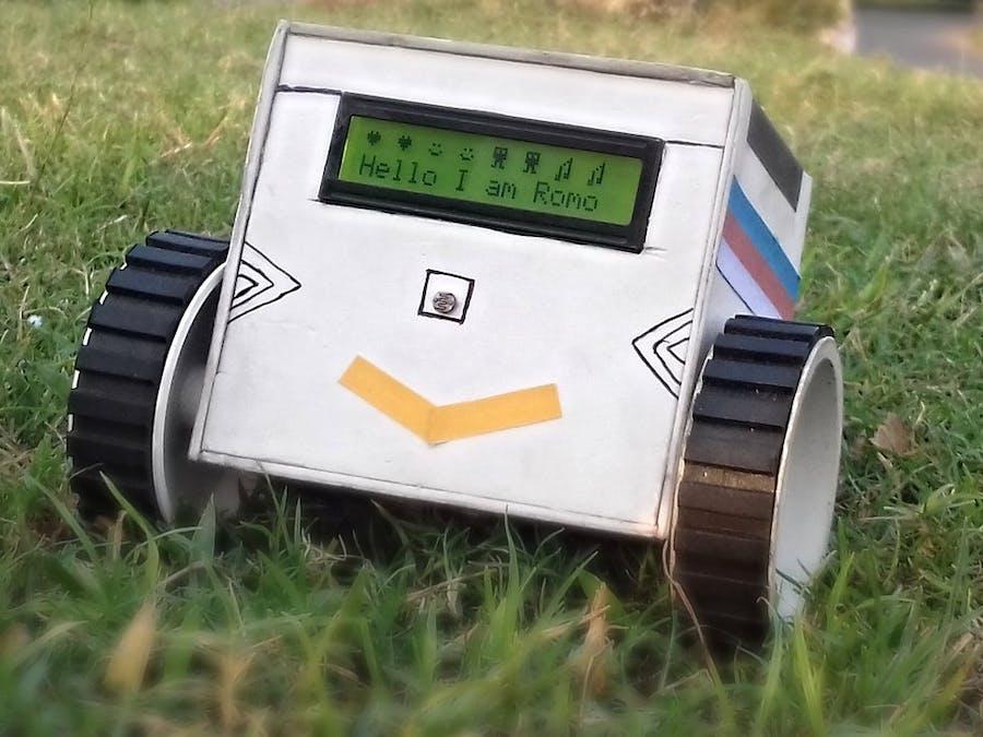 Arduino Pet Robot (Bluetooth)