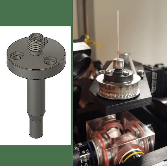3D-printable sample holder