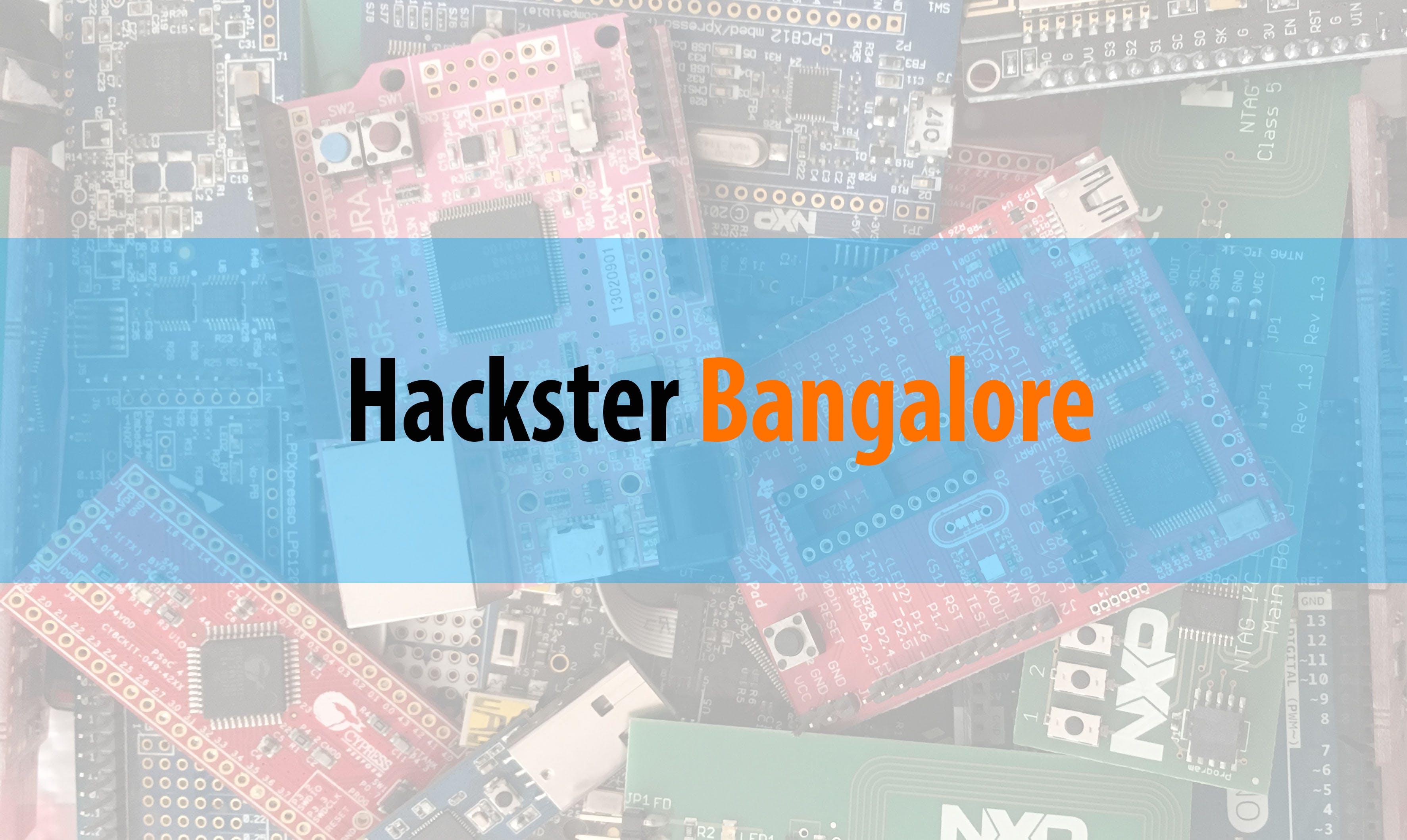 Hackster bangalore tzw4wn4jd1