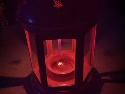 Candle led light