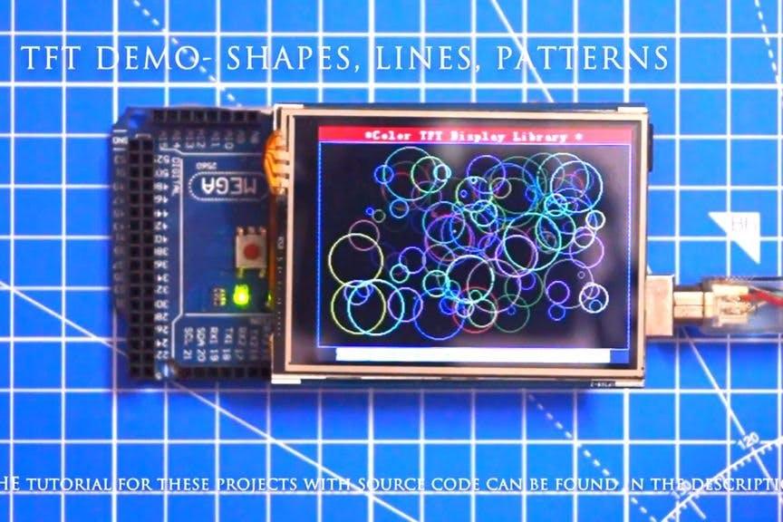 Arduino TFT Interfacing - Arduino Project Hub