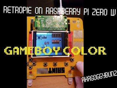 Hacker Badge Turned RetroPie w/ Raspberry Pi Zero W