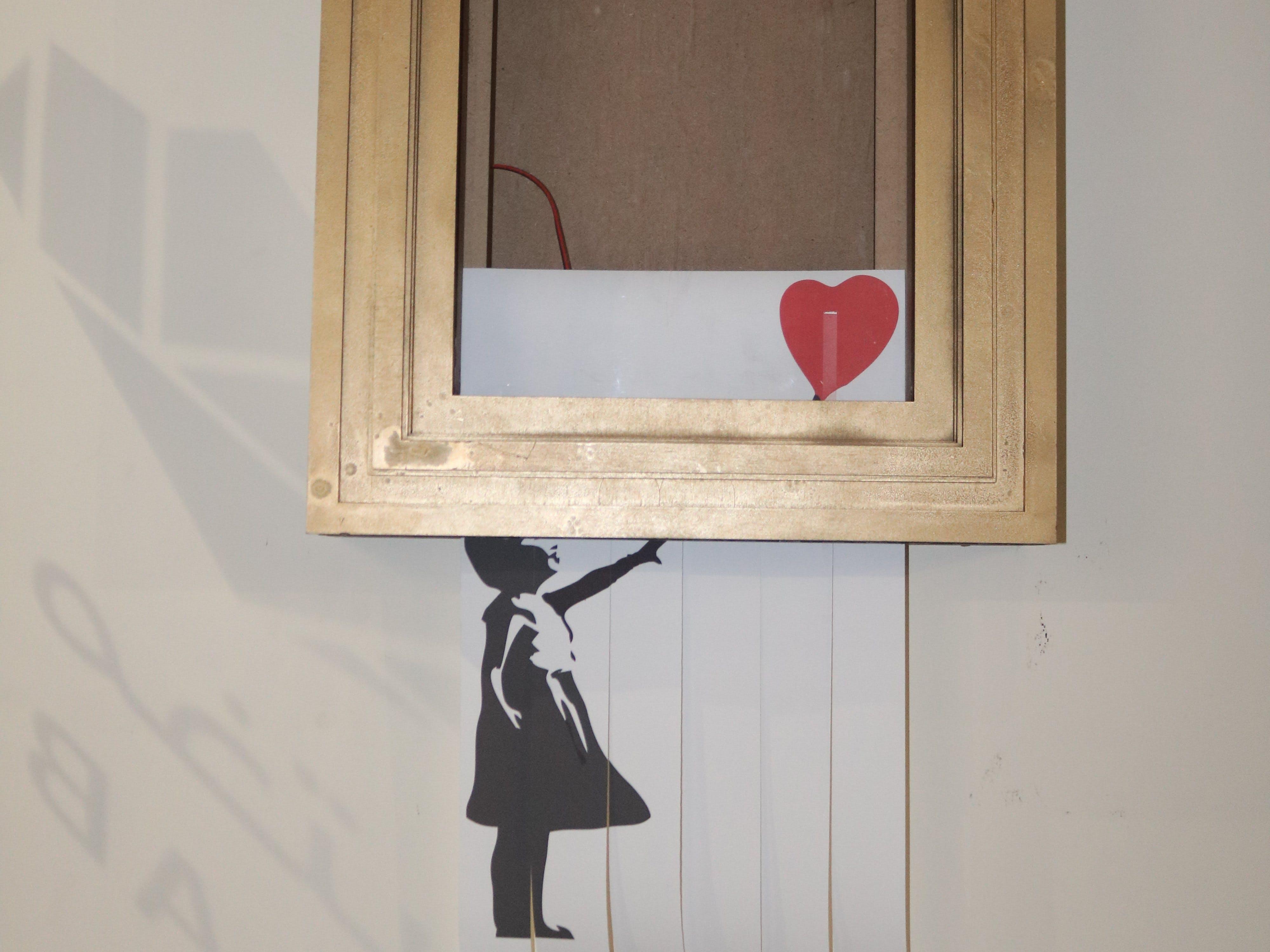"""Build Your Own Banksy's """"Self-Destruct Artwork Frame"""""""