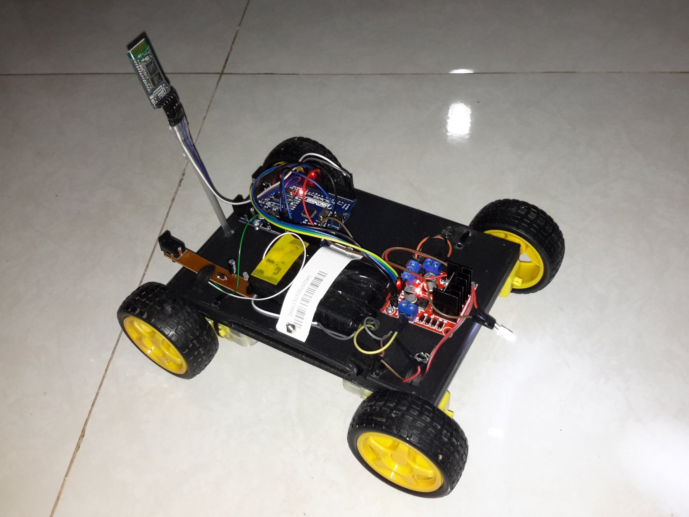 bluetooth controlled car arduino project hubbluetooth controlled car