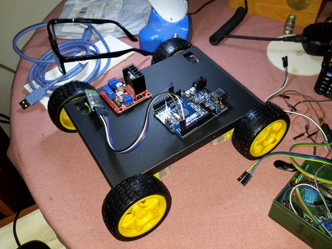 Bluetooth Controlled Car - Arduino Project Hub