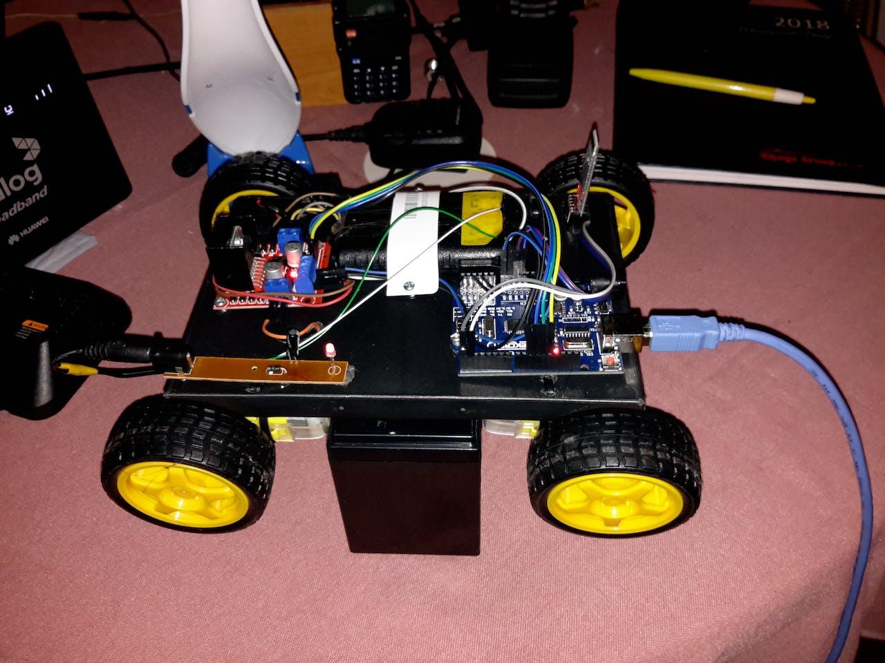 Bluetooth Controlled Car - Arduino Project Hub
