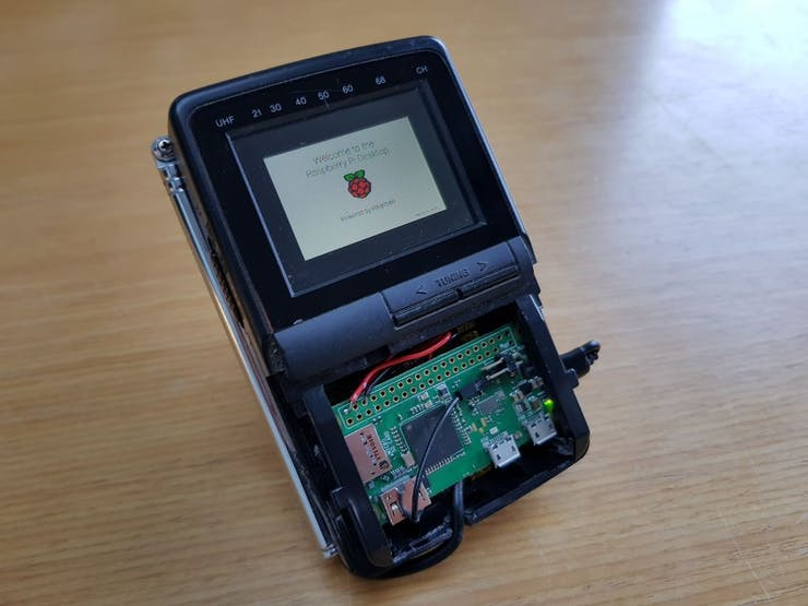 Pi boot screen