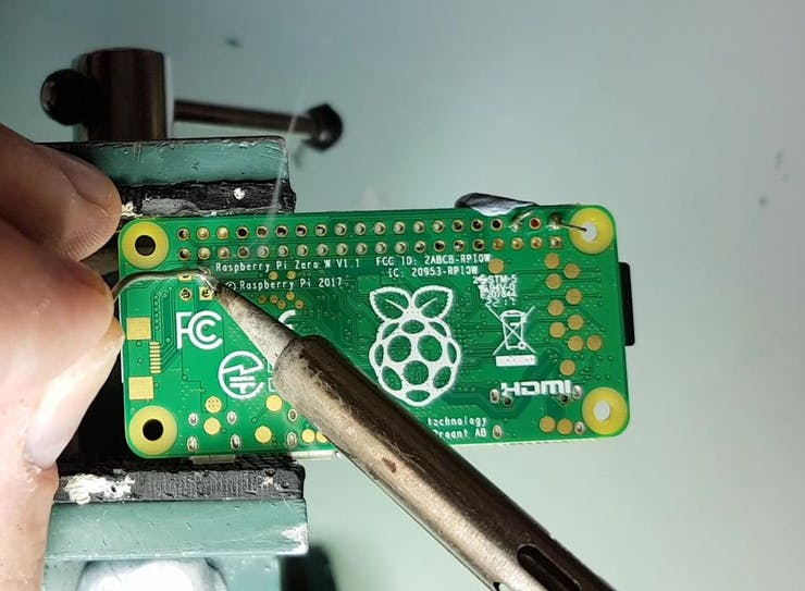 Just 6 joints to solder
