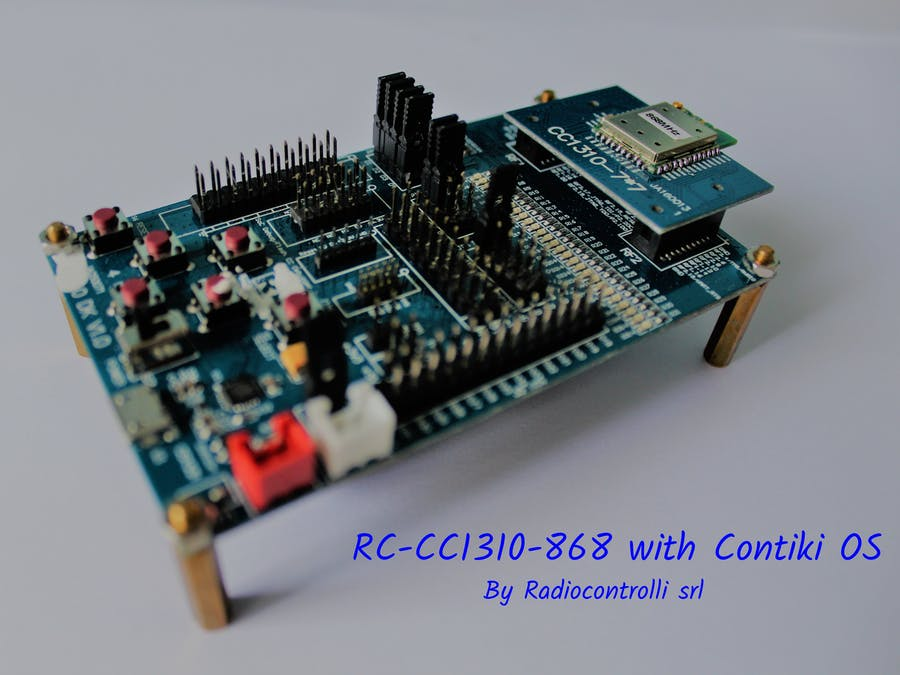 IoT Solutions - Contiki OS with RC-CC1310-868
