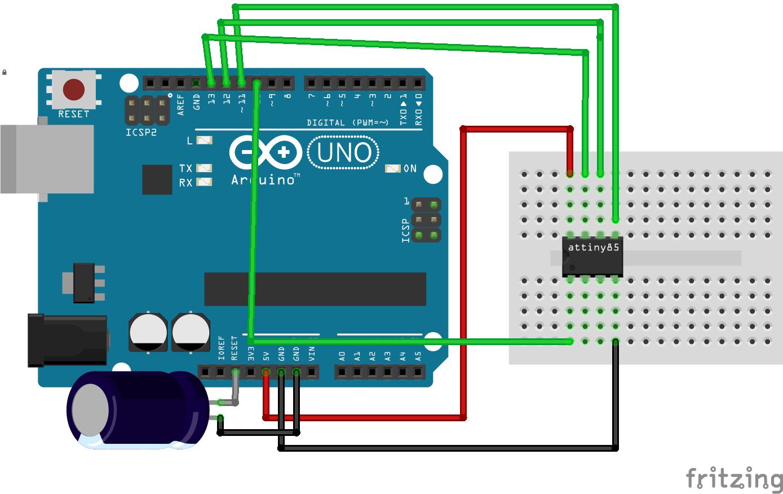 Program an attiny with arduino bb x0ekmzijs4