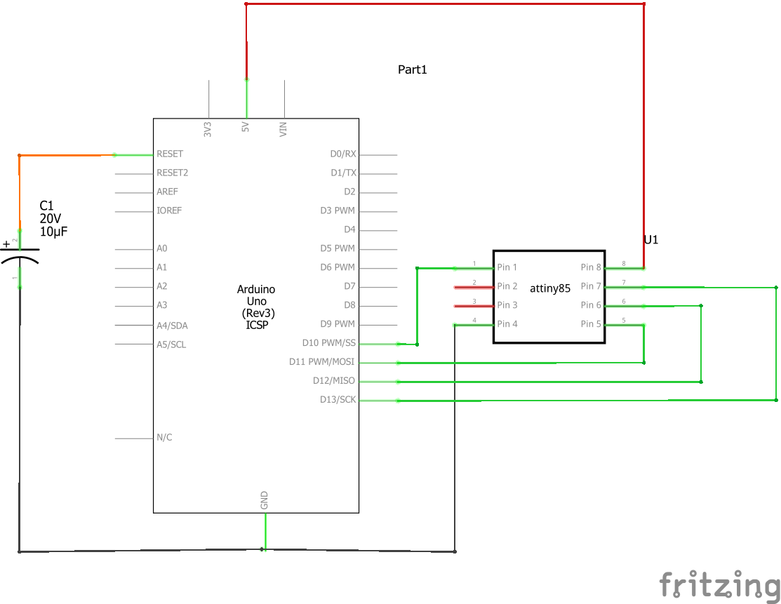 Program an attiny with arduino schem ccn2nocxbz