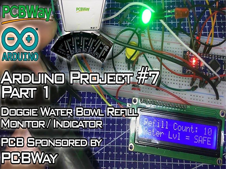 Doggo Water Bowl Refill Monitor/Indicator - Part 1