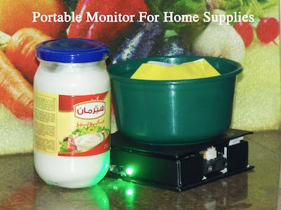 Portable Monitor for Home Supplies