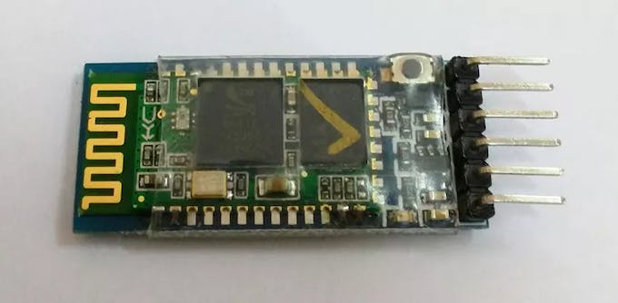 My HC-05 bluetooth module, purchased from eBay