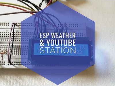 Simple Weather Station Using ESP8266