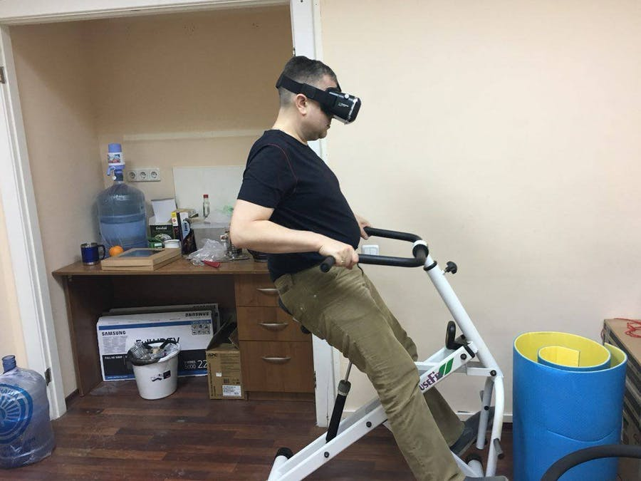 Add VR to Your exercise machine