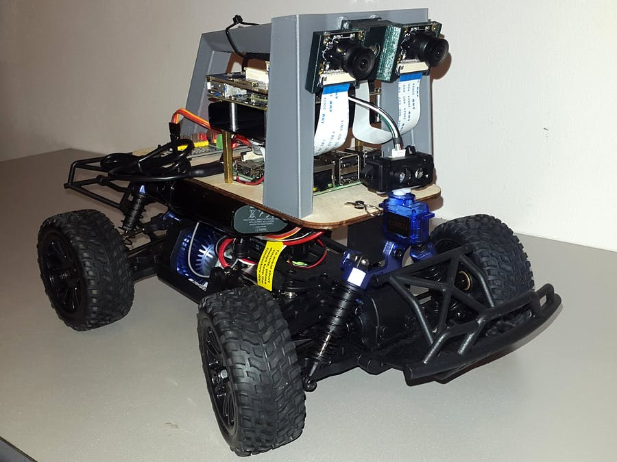 Stereo Vision and LiDAR Powered Donkey Car