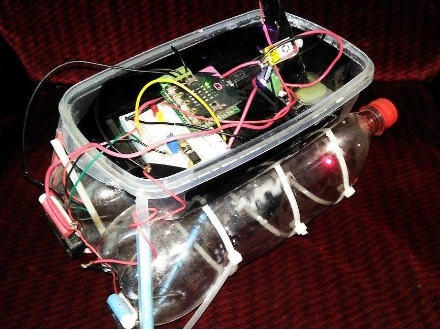 Water Quality Monitoring Autonomous Robot