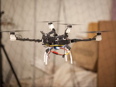 Autonomous Aerial Vehicle for Real time Pollution Mapping