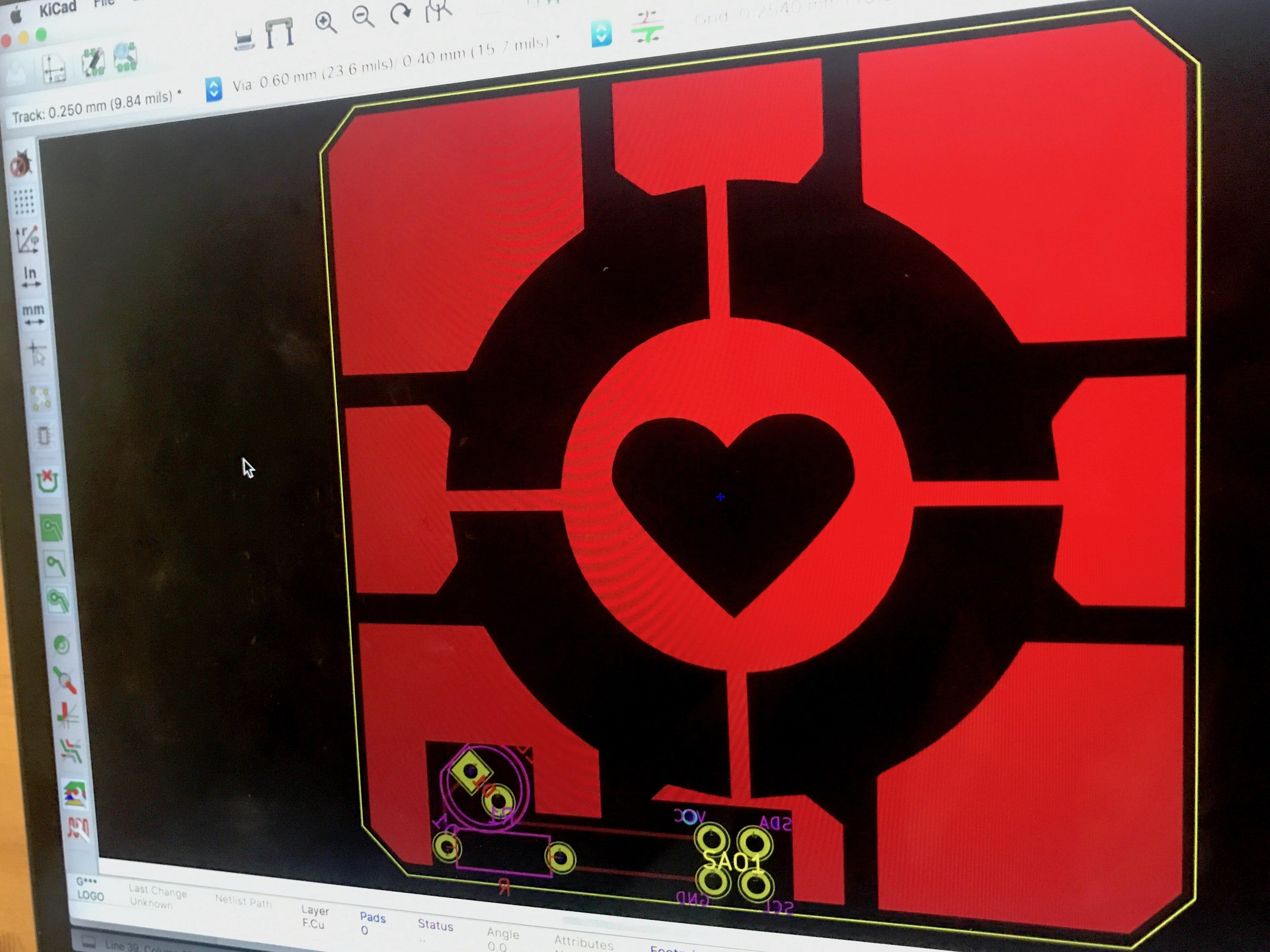 Design a Sh*tty Add-On in KiCad