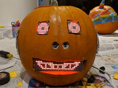 Android Things Robot Pumpkin