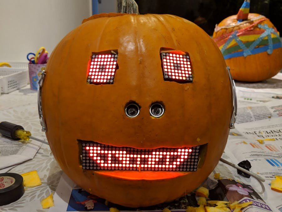 Android Things Robot Pumpkin - Hackster io