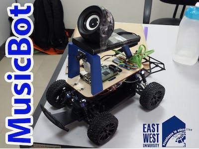Interactive Music Robot [MusicBot]