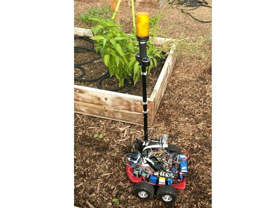 Farmaid: Plant Disease Detection Robot