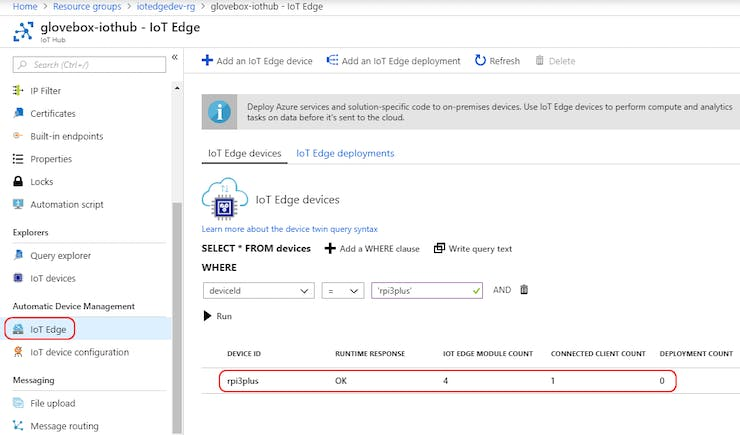 Image Recognition with Azure IoT Edge and Cognitive Services