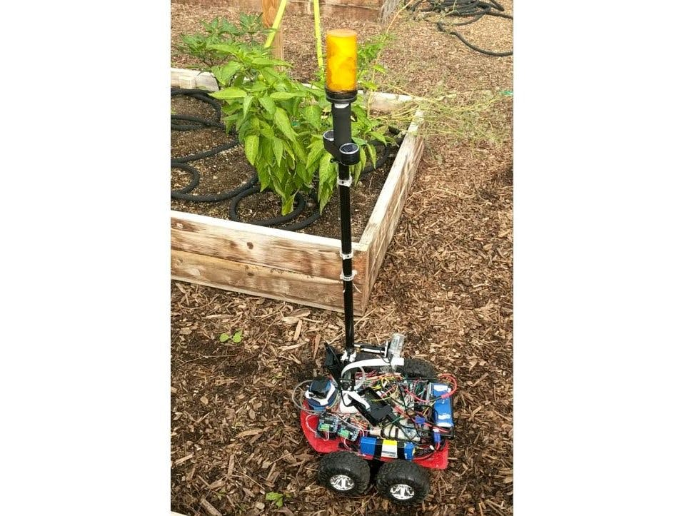 Farmaid: Plant Disease Detection Robot