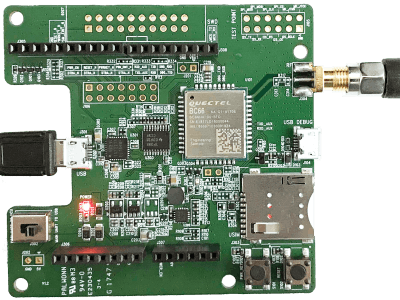 LTE NB Arduino for Quectel BC66