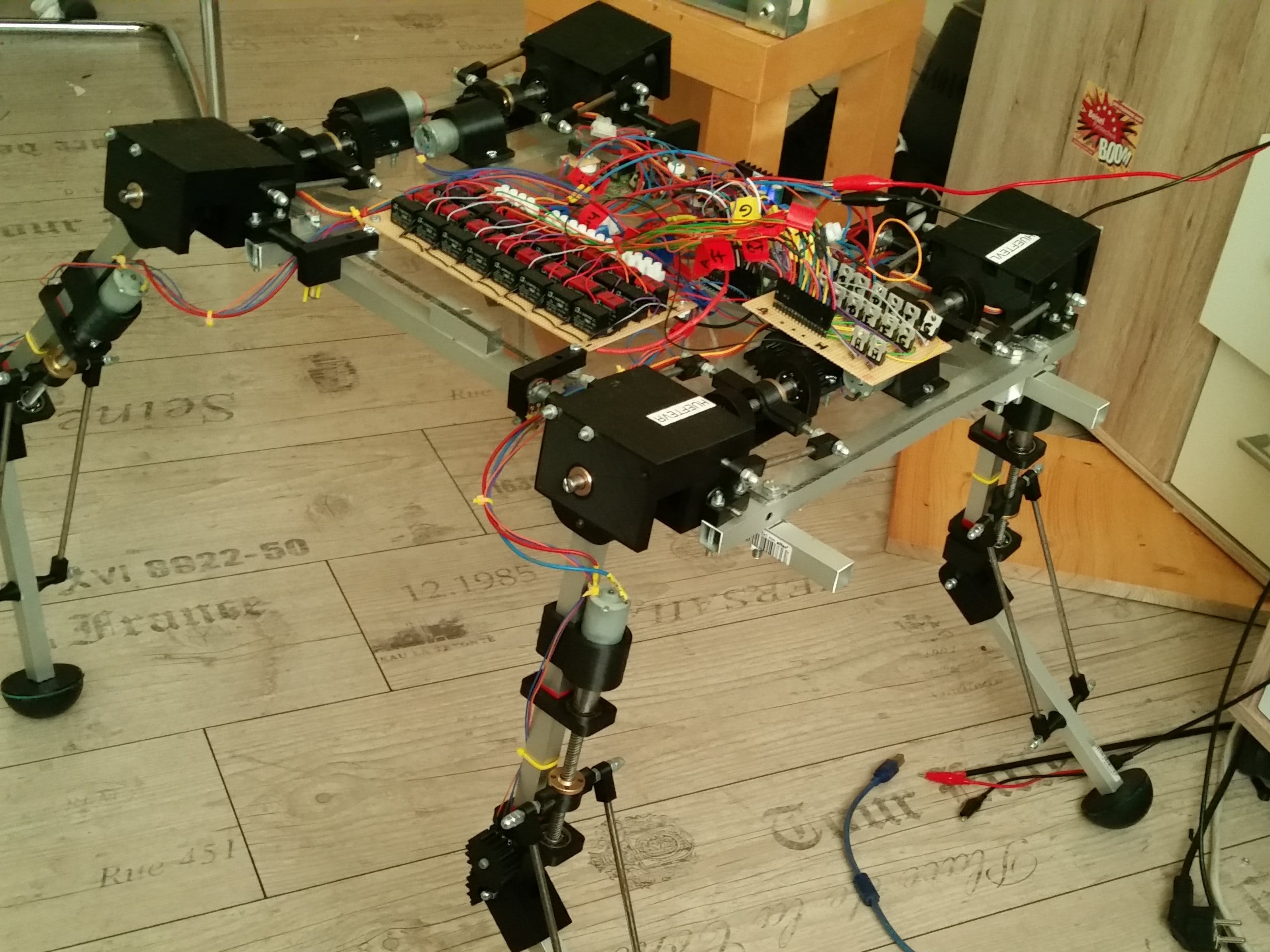 Project ZERBERUS - Robotic Dog
