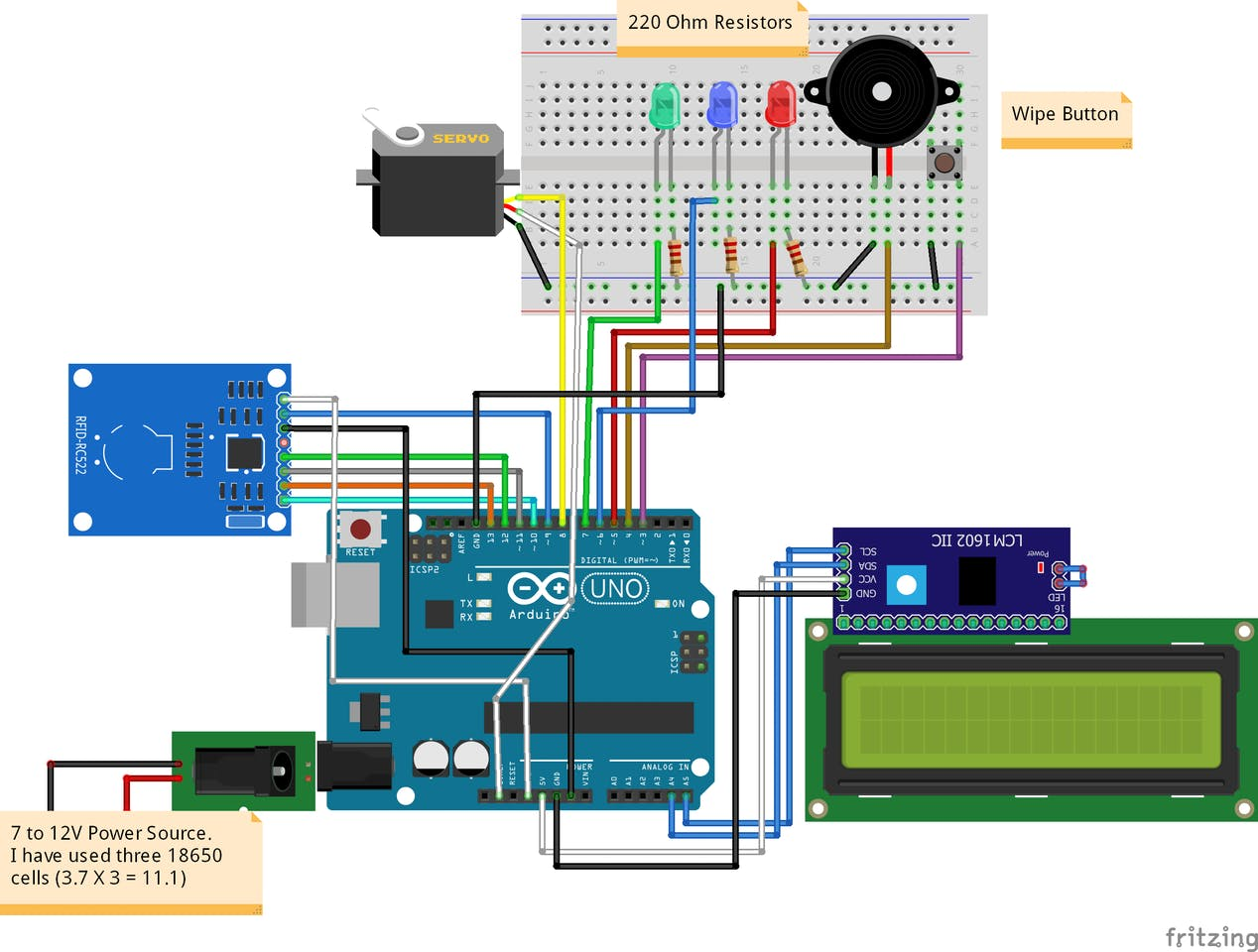 RFID Based Access Control System Using Arduino - ster.io on