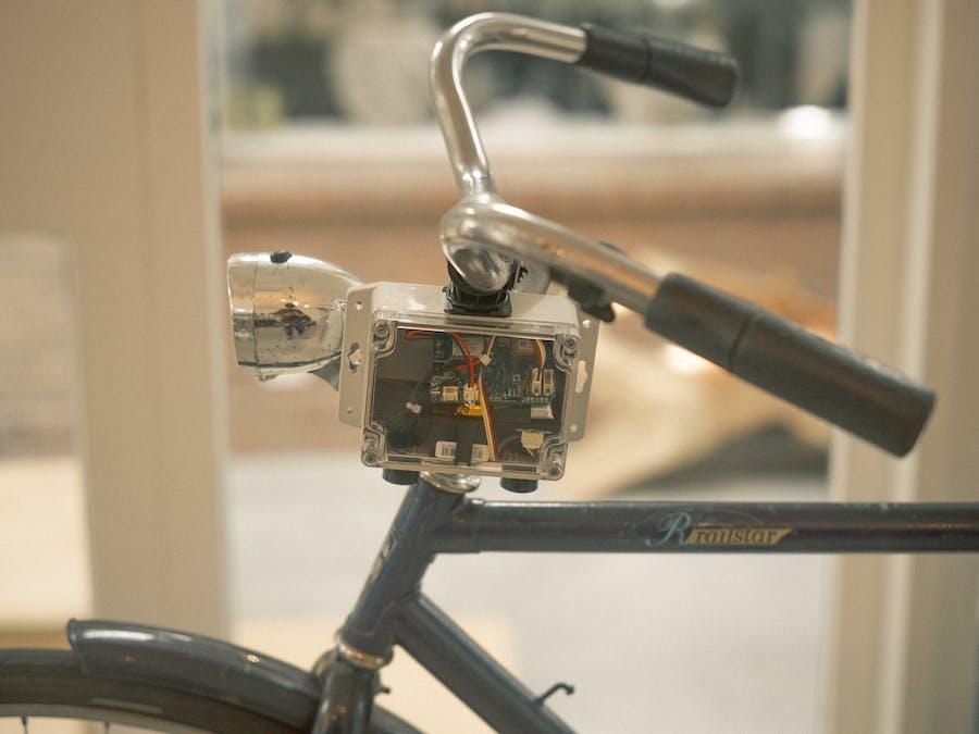 SODAQ NB-IoT Sniffer Bike