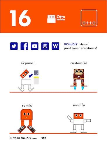 Otto DIY+ Arduino Bluetooth robot easy to 3D Print - Arduino Project Hub