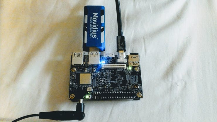 Ultra96 with Movidius NCS