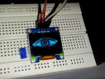 SSD 1306 OLED Eye