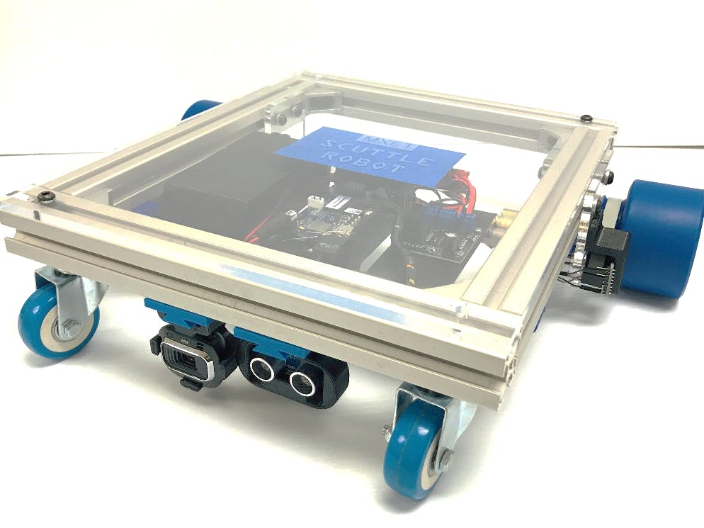 SCUTTLE Mobile Utility Robot from Texas A&M