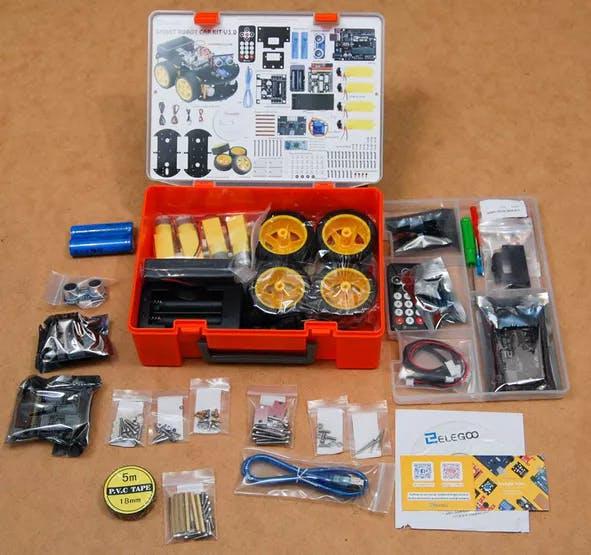 Elegoo Robot Car - Building a Bluetooth Enabled Robot Car