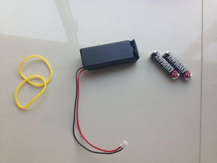 Microbit triple AAA battery case