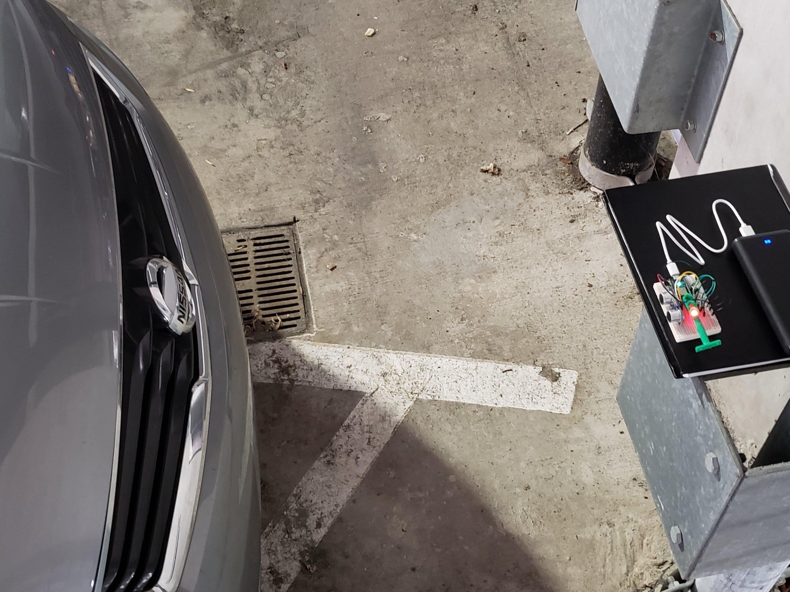 MEGR 3171 IOT Parking Sensor