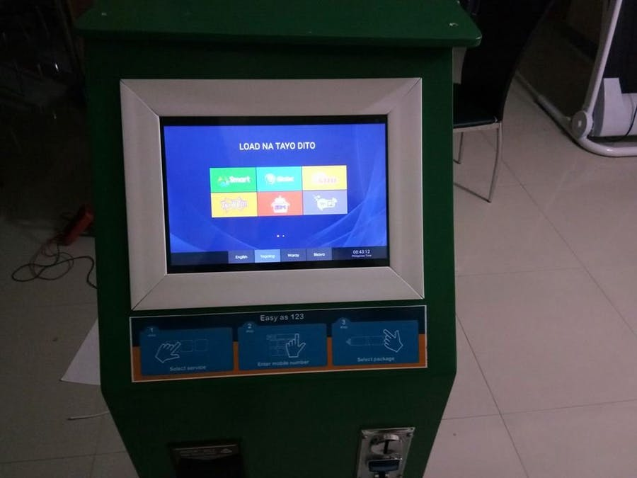 Information Kiosk Raspberry Pi