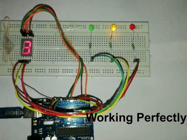 Traffic Lights Using Arduino Uno
