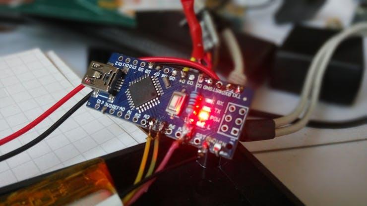 Arduino Nano as the brain of iTRUBEC Sigfox beehive monitor