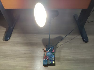 RFID Desk Lamp